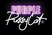'Purr'fect 'Purr'ple Puss / by Jo =^,^= Allen