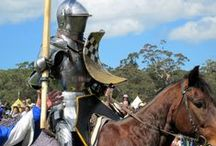 Medieval Jousting / The precursor to modern day Demolition Derby
