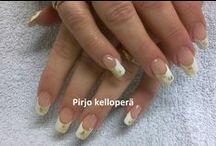 Nails by Pirjo / rakennekynnet ja kynsigeelit