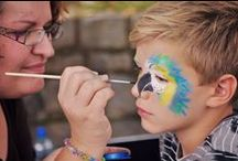 Face painting / face painting tutorials, inspirations, realisations