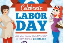 Holiday Pregnancy Fun / Holiday greetings from Prenate. Plus, tips for staying happy and healthy during the holidays.