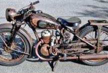 mijn motoren / verzameling crossmotoren welke ik heb gehad