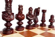 Stylish Chess / Handmade, unique wooden chess sets for sale.