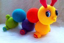 crochet baby clips