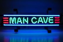 Into the Man Cave! / The perfect accessories for a masculine space.
