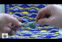 Видео уроки от Мастеров / уроки вязания -видео / by Svetlana