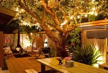 All Aglow! Outdoor Lighting