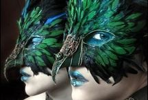 Masques from Venice / Life is a carnival. Carnival in Venice is a Dream! http://www.homeinitaly.com #Luxury #villas in #Italy for #rent. Your #luxury #vacation in #Italy
