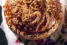Bread and pie art / bread art, pie art