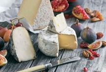 Cheese and platter with cheese / Cheese, Fromage