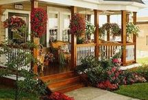 Exterior and landscape design / Parks, gardens, pools, hauses, facade