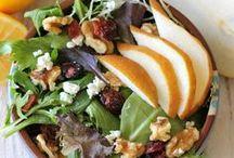 Beautiful food: salad / Salad - sweet and savory