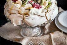 Sweeties: Meringue / Meringue, Pavlova, Vacherin and other