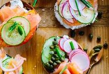 Beautiful food: Sandwiches, toasts, burgers / Sandwiches, toasts, burgers, bruschetta, croque-monsieur, canape, hot dog, caprese and other