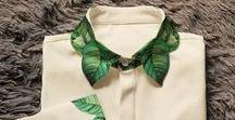 Collars with embroidery Воротнички с вышивкой /  Collars with embroidery Воротнички с вышивкой