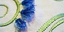 Fringe Embroidery. Бахрома вышивка.