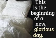 Morning / Because of the Lord's great love we are not consumed, for his compassions never fail. They are new every morning... (Lamentations 3:22-23) / by Instruments of Praize