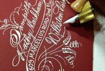 Handlettering and Calligraphy