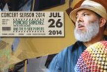 Poncho Sanchez / Buy your tickets for the 2014 Starlight Bowl Summer Concerts! If music were about pictures, percussionist Poncho Sanchez's music would best be described as a kaleidoscopic swirl of some of the hottest colors and brightest lights to emerge from either side of the border.