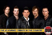 """DSB - America's Favorite Tribute to Journey / Buy your tickets for the 2014 Starlight Bowl Summer Concerts! DSB has been highly revered by fans as the """"next best thing"""" to Journey. They have captured the lush, signature sound of renowned vocalist Steve Perry and Journey in their prime."""