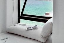 Book Nooks We Love / These amazing book nooks make us want to curl up with a good book or two....