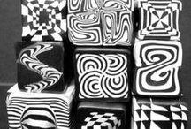 FIMOnávody - geometrické vzory