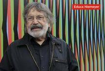 El color acontece con Carlos Cruz-Diez en el Centro Niemeyer / Recorrido didáctico con motivo de la exposición en la cúpula del Centro Niemeyer Color Espacial Cruz-Diez. Ambientación cromática en el Centro Niemeyer. Con la colaboración de la Fundación Cruz-Diez