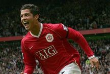 MUFC: Cristiano Ronaldo / Cristiano Ronaldo is arguably the world's best footballer and he honed his talent at Manchester United. The Portuguese international spent six years at Old Trafford, where he became a superstar.