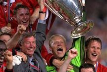MUFC: The Treble 1999 / In 1998/99, Manchester United won a historic Treble of the English championship, the FA Cup and the Champions League. Here are some of the best images from that memorable season.