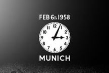 MUFC: Remembering Munich / The Munich Air Disaster, on 6 February 1958, was Manchester United's darkest day. Twenty-three people, including eight players, lost their lives. Forever remembered.