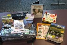 Discovery Kits / Discover the world around you with our science-based Discovery kits, available for check-out!