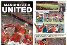 MUFC: Graphic Novel / Manchester United's graphic novel - Tales From History, Volume 1 - is out now and tells the club's story in a unique illustrative way.