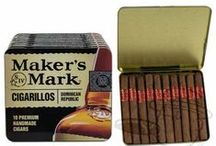 Cigars // Maker's Mark / Click through to our site for even more options on shapes and wrappers.