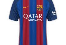 La liga kits 16-17 / This is my collection .....
