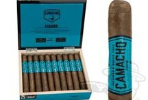 Cigars // Camacho / Click through to our site for even more options on shapes and wrappers.