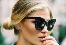Óculos de sol / Inspirações de óculos de sol para todos os gostos e estilos.