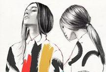 Fashion art / Inspirações da arte para a moda e da moda para arte, tudo se integra e se complementa.