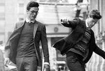For him / Seja seu estilo urbano, formal ou casual, encontre inspirações de moda masculina neste painel!