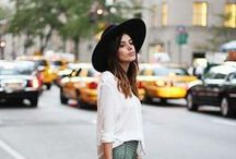 women's fashion // fall + winter / women's fashion | neutrals with pops of color | clean lines | slightly edgy