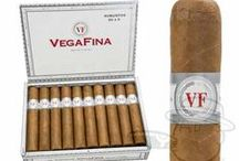 Cigars // Vega Fina / Click through to our site for even more options on shapes and wrappers.