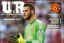 MUFC: United Review 2015/16 / All the front covers from the iconic Manchester United matchday programme, United Review.