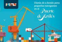 """PORTUS - Una Historia del Puerto de Avilés / Recorridos didácticos para escolares con motivo de la exposición """"PORTUS"""" en la Cúpula del Centro Niemeyer"""