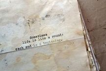 Quotes & Poems  ➸ / English & Spanish.
