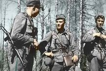 Finnish soldiers WWII