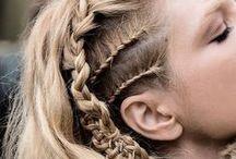Inspiración Vikinga / Hair Style. Feeling like a Viking Shieldmaiden