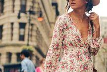 Floral dresses  ~