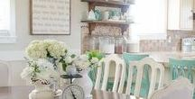 Kitchen Organizing and Decor / Ideas for organizing and decorating your kitchen, family command center.