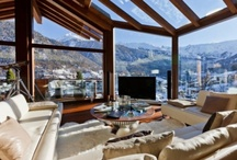 Chalet Zermatt / Situated in one of the world's most desirable and iconic locations, this chalet is the Alps's new premier chalet with panoramic views over Zermatt and to the iconic Matterhorn. Exceptional Luxury Chalet is a landmark chalet in one of the most desirable locations in the world. Set into the side of the mountain, it offers unrivalled panoramic views across the village and to the Matterhorn. No expense has been spared in creating Zermatt's ultimate and most luxurious chalet.