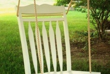 Chairs / There are lots of chairs available waiting to be repurposed!