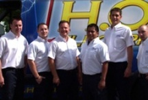 Boston's Home Team / Electrical, plumbing, heating, and cooling / by H.O. Electric